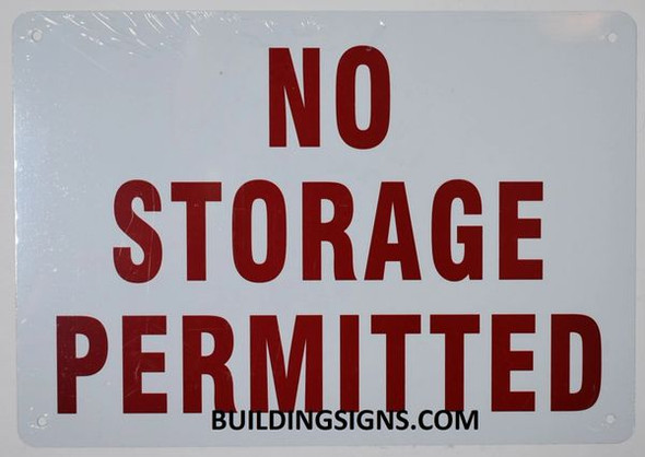 FIRE RISER ROOM NO STORAGE PERMITTED -White