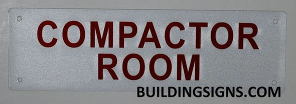 Compactor Room  Signage