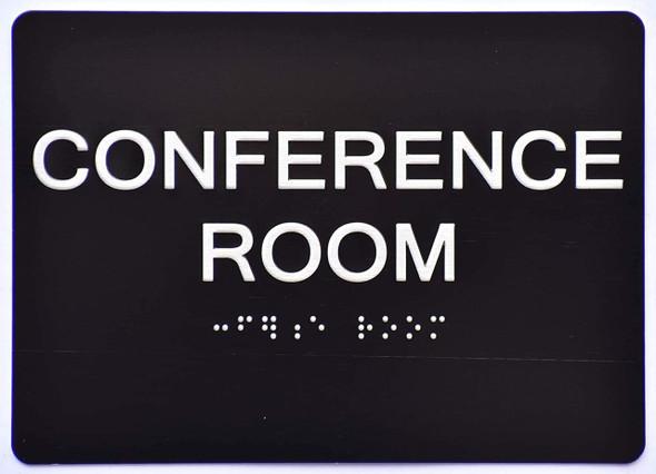 Conference Room  Signage Black