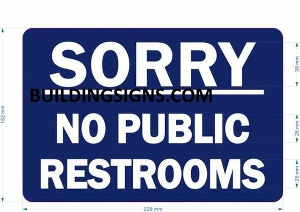 NO Public Restroom