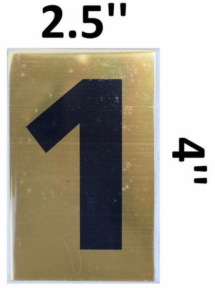 Apartment number sign 1