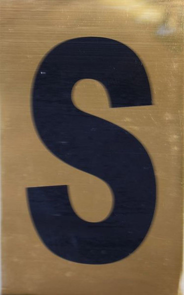Apartment number sign S Sign
