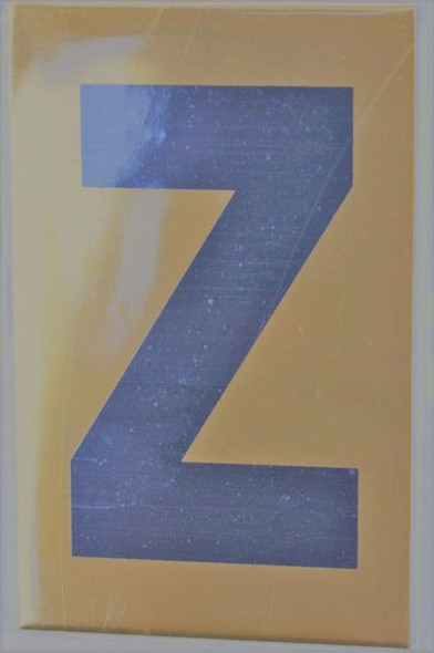 Apartment number sign Z