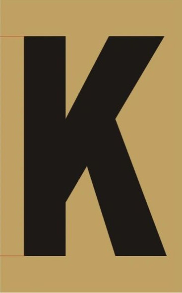 Apartment number sign K
