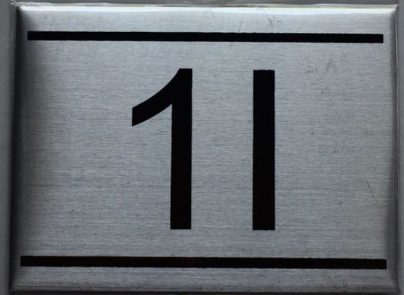 APARTMENT NUMBER SIGN - 1I    Sign