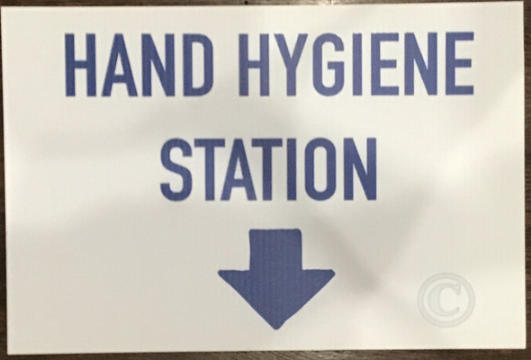 COVID19  DOB Hand Hygiene station SIGN signs