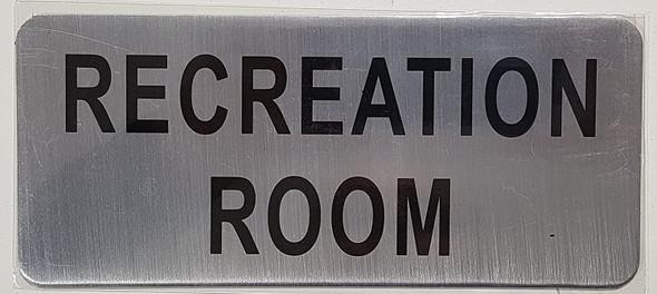 RECREATION ROOM  Signage