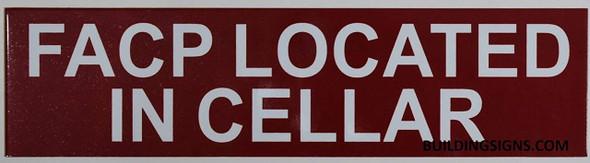 FACP Located in Cellar
