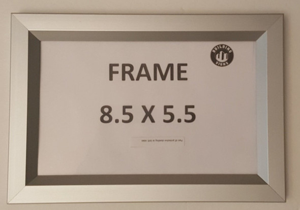 License Permit HPD Frame