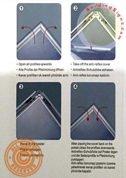 HPD  Snap Frame for Poster/Notice Frame
