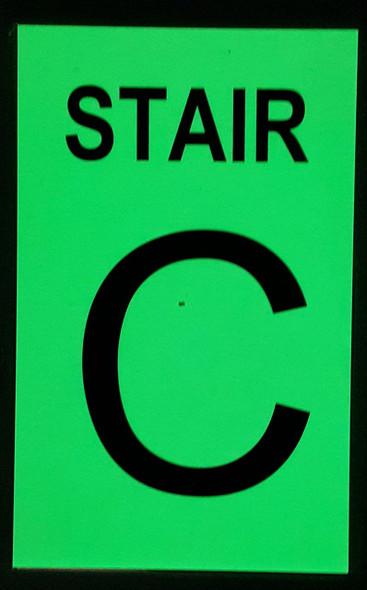 STAIR C  GLOW IN THE DARK