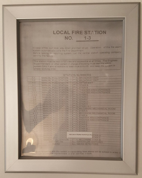 Local fire station frame