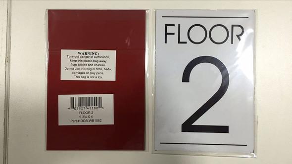 FLOOR NUMBER   - 2ND FLOOR