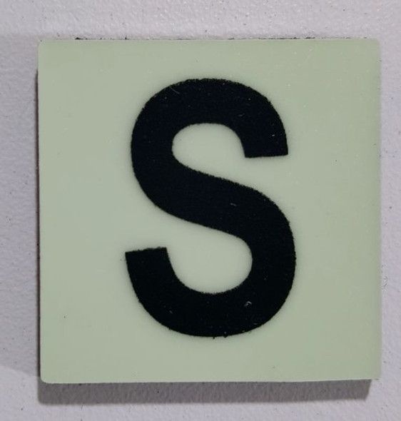 Glow in dark Number S sign The Libert  Sign