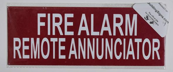 FIRE Alarm Remote Annunciator  Signage