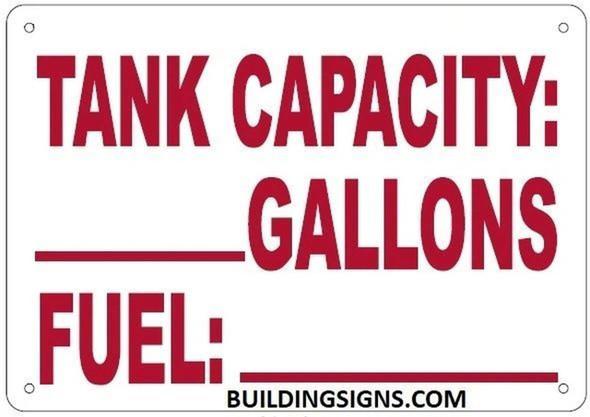 Tank Capacity