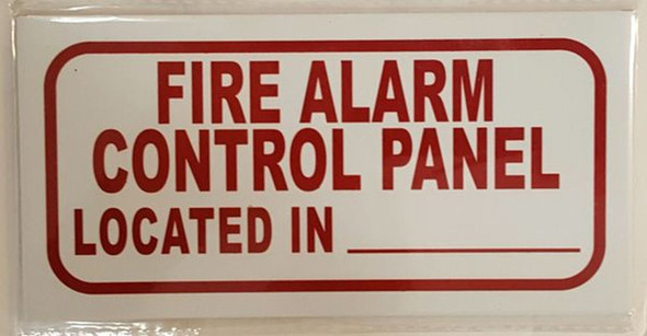 FIRE ALARM CONTROL PANEL LOCATED IN