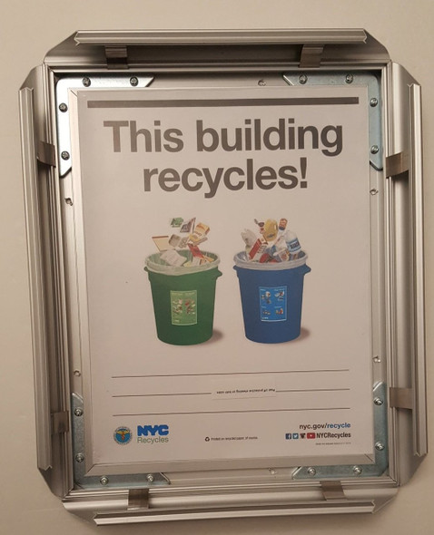 HPD-Recycles notice frame