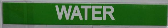 Set of 5 PCS -Water Sticker Signage