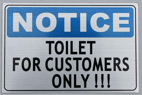 Toilet for Customer ONLY