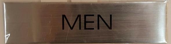 Toilet Men  Signage - Delicato line