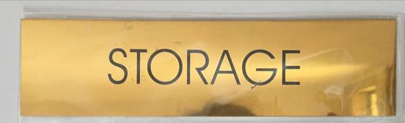 STORAGE ROOM  Signage -  BACKGROUND