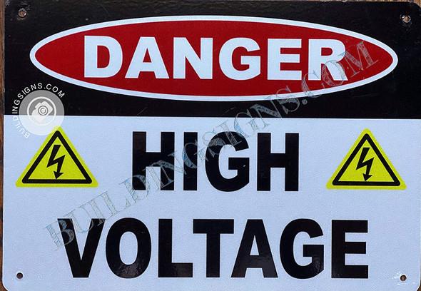 Danger HIGH Voltage  Singange