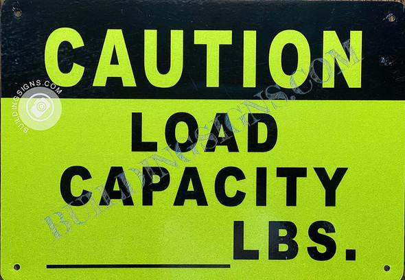 Caution Load Capacity_ lbs  Singange