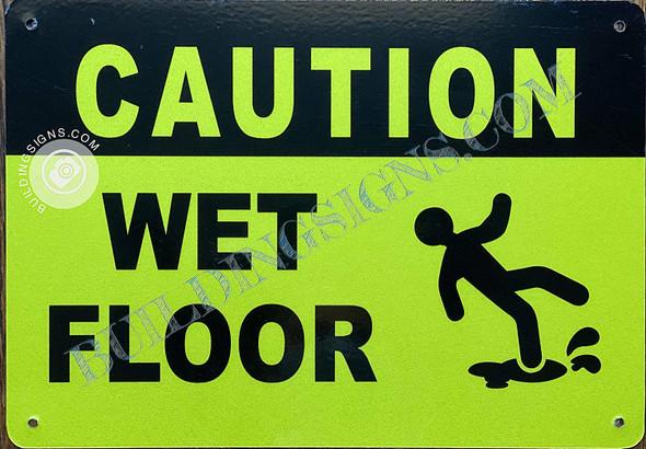Caution Wet Floor  Singange