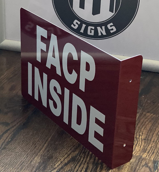 FACP Inside Projection - FIRE Alarm Control Panel Inside 3D Singange