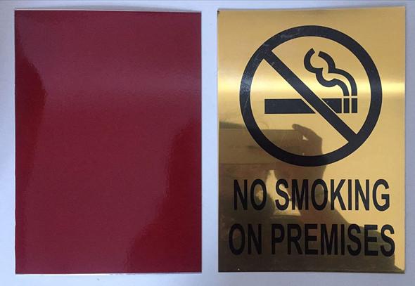 NO SMOKING ON PREMISES  -  BACKGROUND