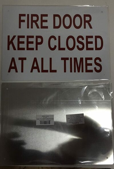 FIRE DOOR KEEP CLOSED AT ALL TIMES