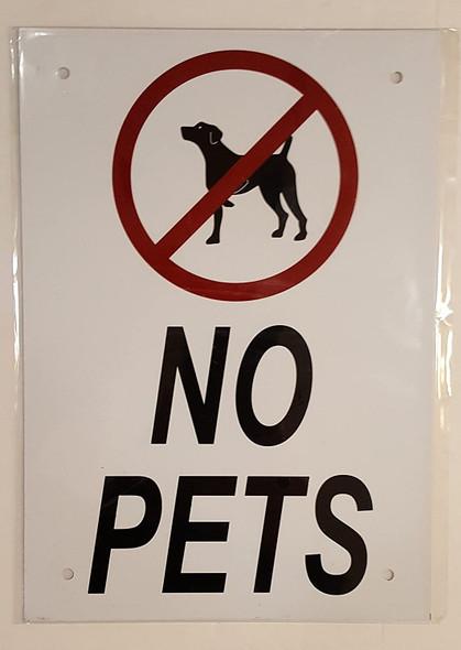 NO PETS  Signage