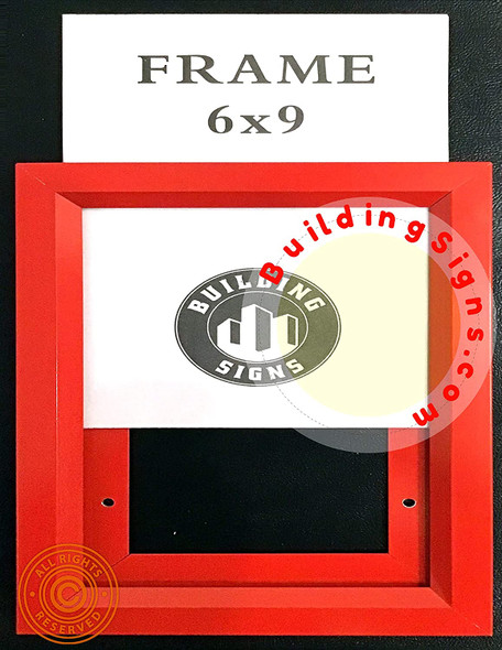 RED  Frame Elevator Inspection Certificate