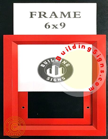 Red Frame Inspection Frame