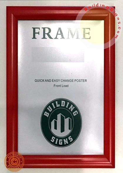 FRAME Front Load Snap Poster Frame /Picture Frame