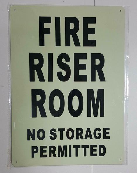 FIRE RISER ROOM  GLOW IN THE DARK