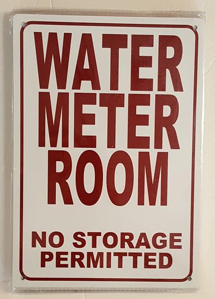 WATER METER ROOM- NO SIGN