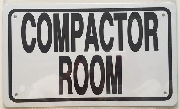 Compactor Room  White