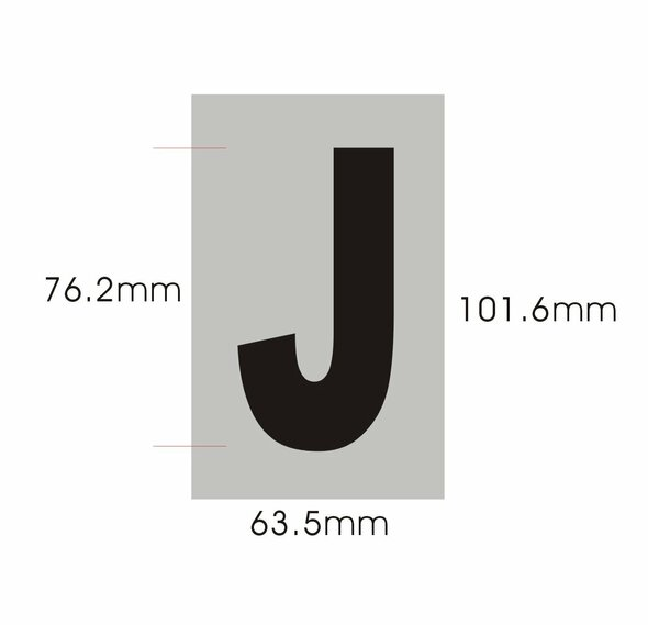 Apartment Number  - Letter J