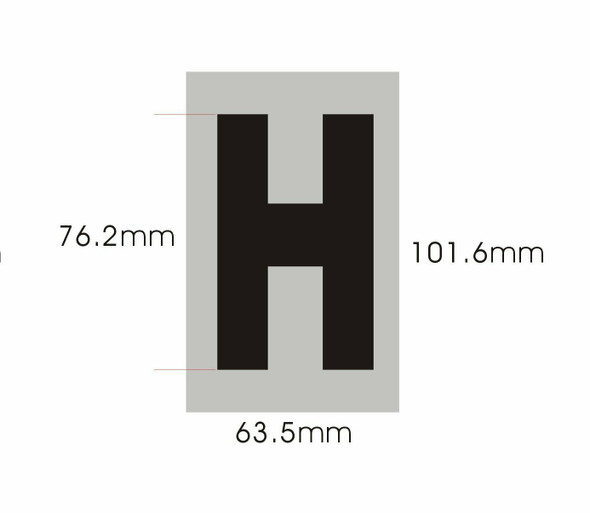 Apartment Number  - Letter H