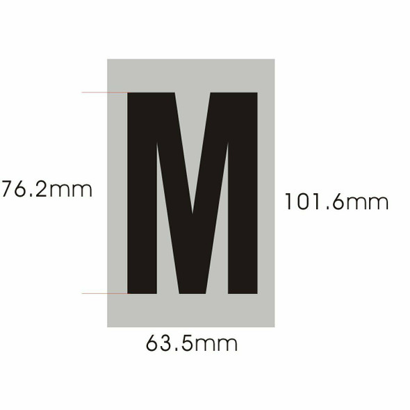 Apartment Number  - Letter M