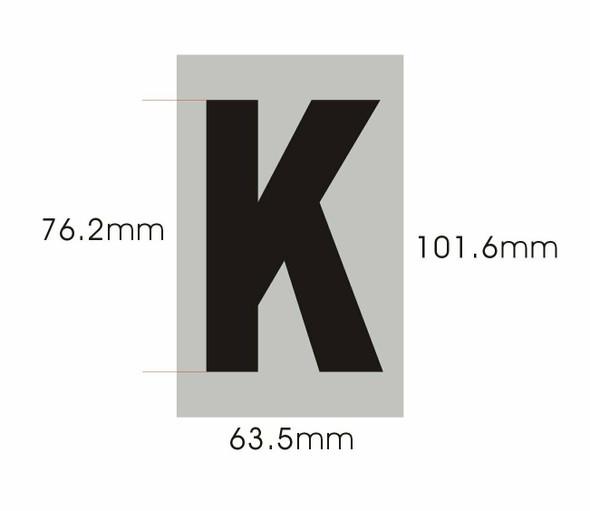 Apartment Number  - Letter k