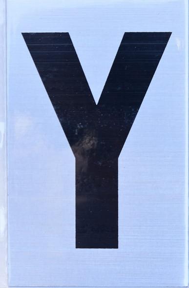 Apartment Number  Signage - Letter Y