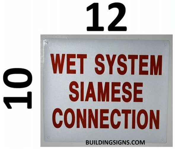 Wet System Siamese Connection  ,