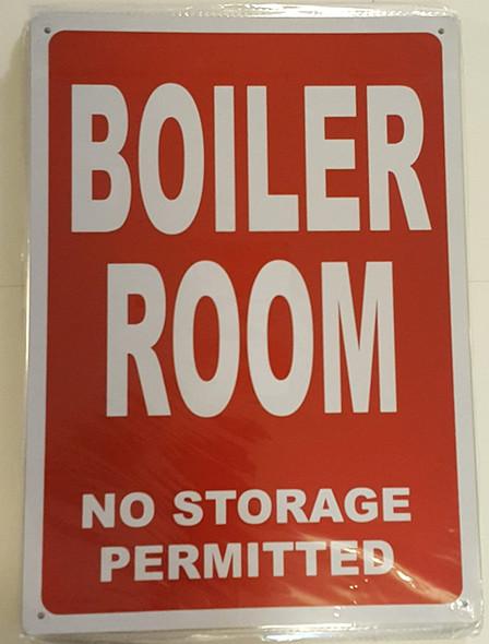 Boiler Room  Signage