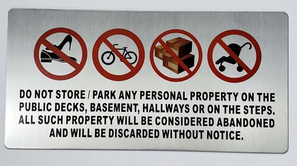 No Storage in Hallway