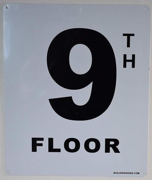 9th Floor  Signage