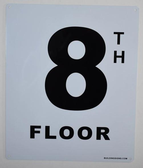 8th Floor  Signage