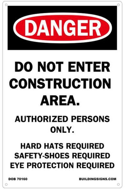 DANGER: DO NOT  Sign